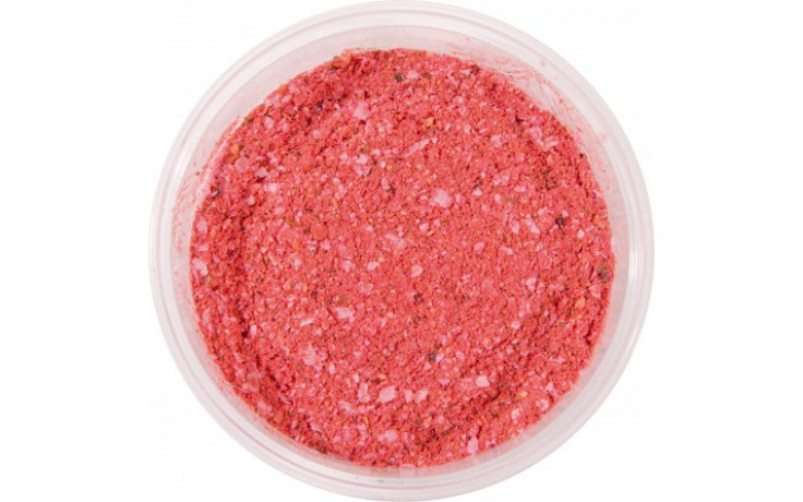 MS Range Fluffy Paste Powder Teig Erdbeere