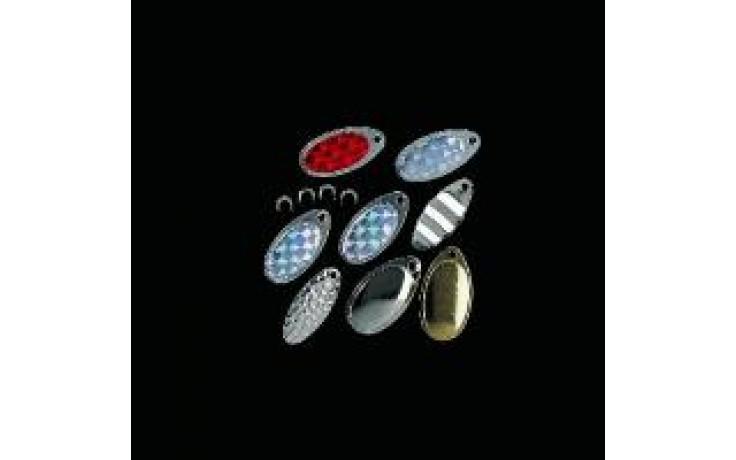 Spinner Blättchen mit Rotierbügel für Angelköder