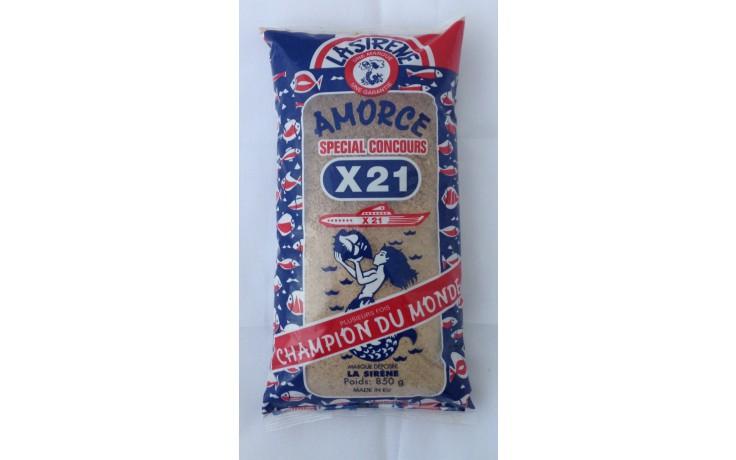 X21 Amorce La Sirene X32 Angelfutter 850 Gramm Anfütterungsmittel