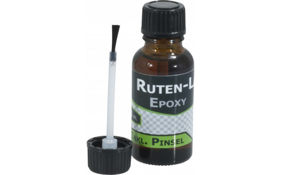 Specitec Epoxy Rutenlack Lack für Angelruten 20 ml inklusive Rutenpinsel