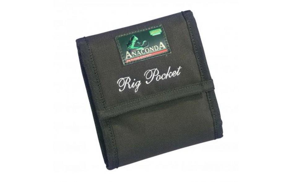 Anaconda Rig Pocket Vorfachtasche für Karpfenvorfächer und Angelzubehör, Karpfenangelzubehör