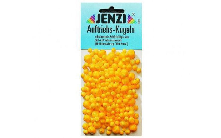 Jenzi Auftriebs Kugeln Auftriebskugeln zum Angeln gelb