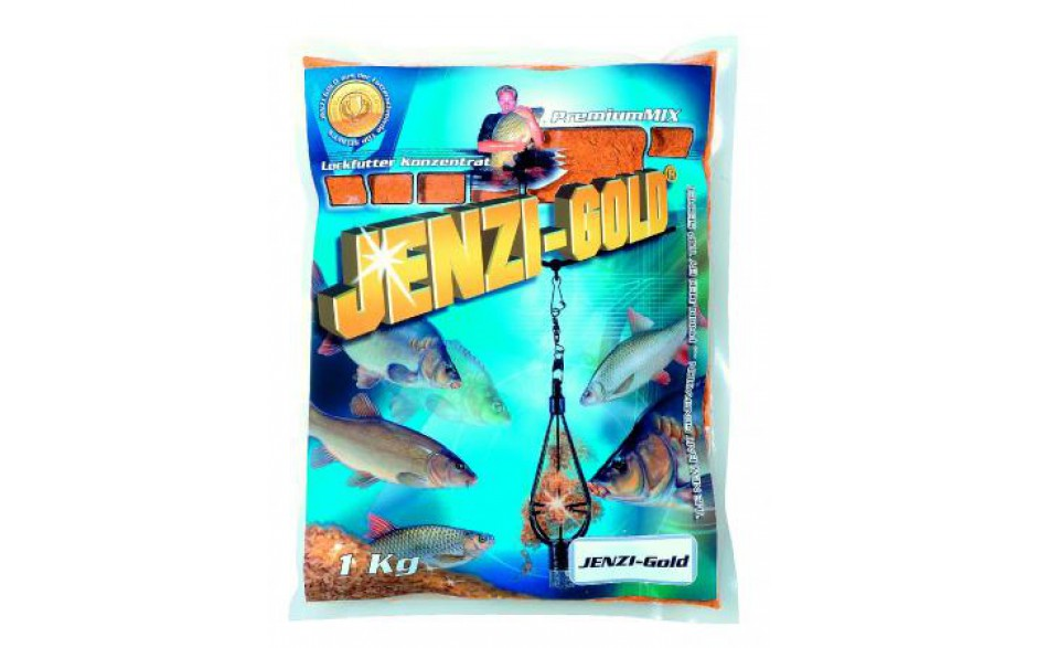 Jenzi Gold Groundmix Lockfutter Konzentrat