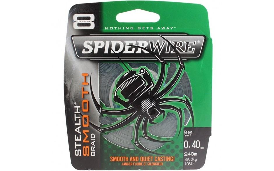 Berkley Spider Wire Stealth Smooth 8 Braid 8fach geflochtene Angelschnur moosgrün Meterware