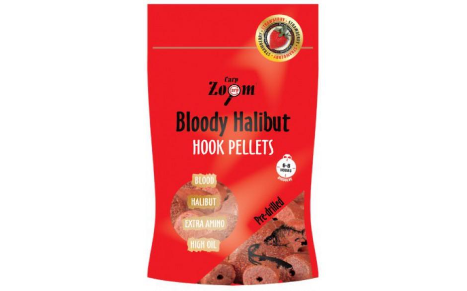 Carp Zoom Halibut Hook Pellets Erdbeere mit Loch