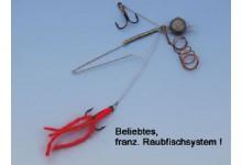 Raubfischsystem, 3 Größen