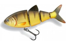 Spro BBZ-1 4 Swimbait Shad SS Wobbler Yellow Perch