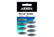 Jenzi Olivenbleie 5 Gramm 8 Stück Angelblei in Form einer Olive