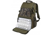 Spro Angelrucksack Double Camouflage Backpack mit 4 Boxen