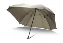 Angelschirm Square Brolly 2,20 Meter Bogenspannweite Schirm für Angler