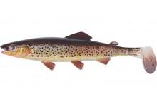 Clone Shad Bachforelle 15cm Angelköder Gummifisch zum Angeln auf Raubfische