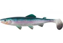 Clone Shad Regenbogenforelle 6,5cm Angelköder Gummifisch zum Angeln auf Raubfische