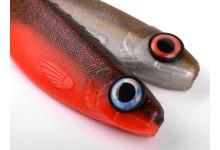 Fischaugen für Kunstköder  BIG EYE SCREW 16mm Silver blue 4 Stück