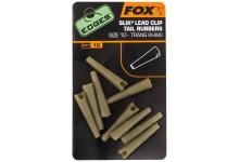 FOX Edges Silk Lead Clip Tail Rubbers Gr. 10