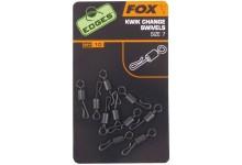 FOX Edges Kwik Change Wirbel Größe 10