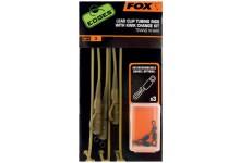 FOX Edges Lead Clip Tubing Rig with Kwik Change Kit
