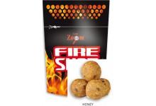 Carp Zoom Fire Shot Boilies Hookable Baits 120 Gramm Honig Geschmack