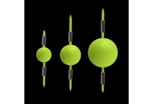 Dega Floating Beads Schwimmer Bissanzeiger 10 mm 5 Stück Gelb