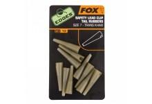 Fox Edges Safety Lead Clip Tail Rubbers Größe 7