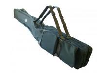 Angelrutentasche Behr mit Innenfächer als Rutentasche und Rutenrucksack für Angelruten