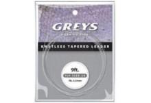 Hardy Greys Greylon Fliegenvorfach GKTL05 0,18 mm 4X Spitze
