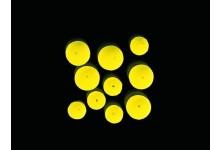 Auftriebskugeln für Meeresmontagen und Meeresvorfächer 10 Stück 8 und 11 mm