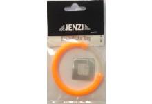 Jenzi Einhängebissanzeiger Ring mit Knicklichtschlauch