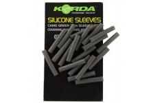 Korda Silicone Sleeves Camo Green 3mm 20Stück