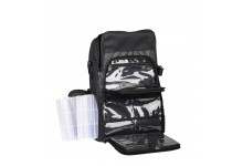 Spro Angelrucksack Backpack 102 mit 2 Boxen und Halterung für Angelruten