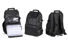 Spro Angelrucksack Backpack 104 mit 4 Boxen und Angelrutenhalter