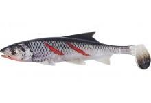 Clone Shad Bloody Minnow 12cm Angelköder Gummifisch zum Angeln auf Raubfische